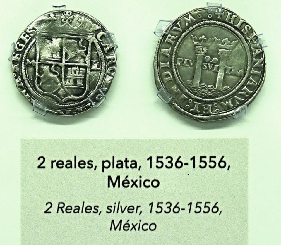 1536 1556 Monedas Siglo XVI Museo Numismática Banco Central San José de Costa Rica 04