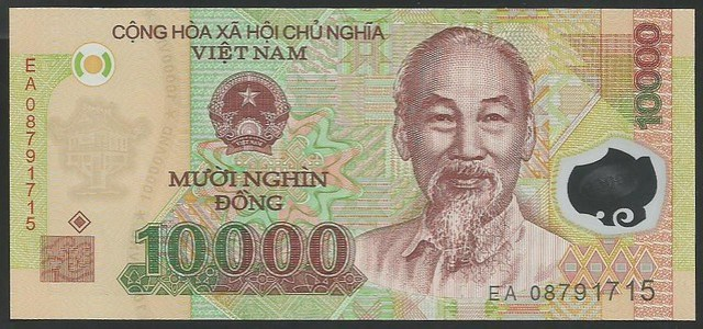 P 119 - 10000 Dong - Serie 2003-2015