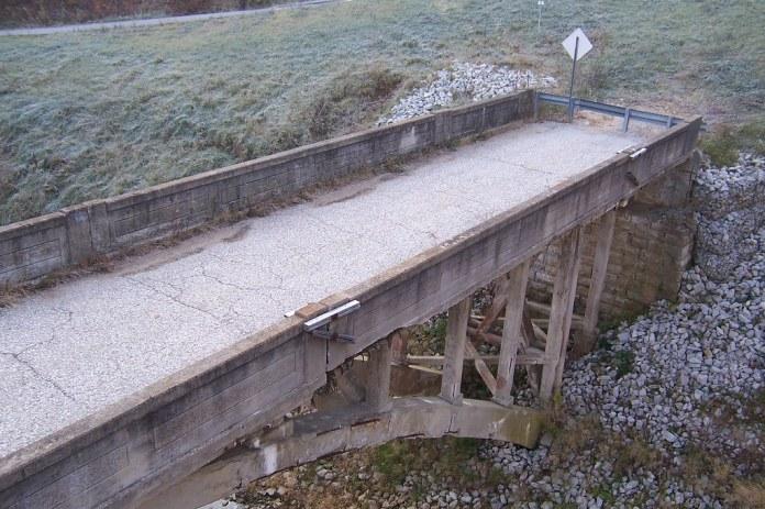 Bridge along the National Road, Reelsville