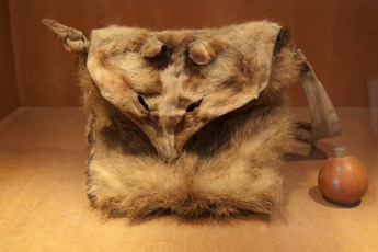 Tasche aus Tierfell