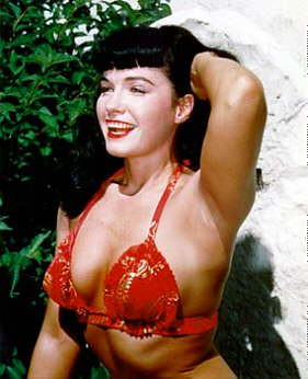 bettie page color # 25