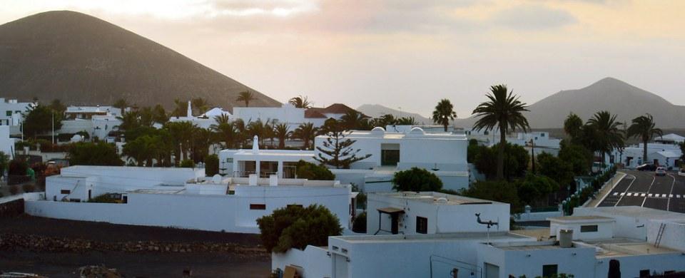 Vista de Yaiza Isla de Lanzarote Islas Canarias 23