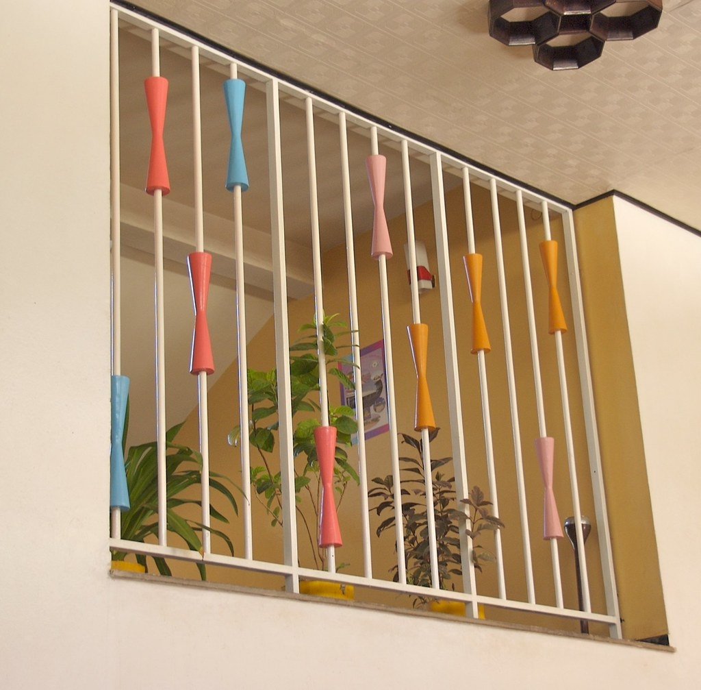 Mid Century Modern In Ethiopia This Is The Decorative   Mid Century Modern Banister