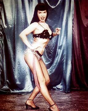 bettie page color # 39