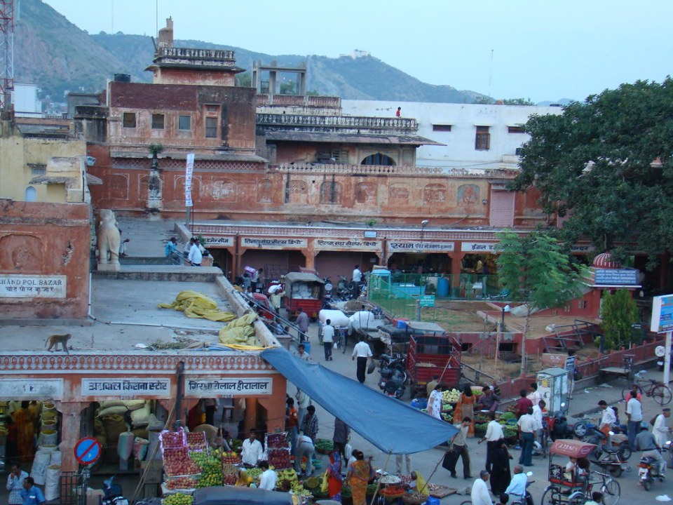bazar mercado de Jaipur India 16