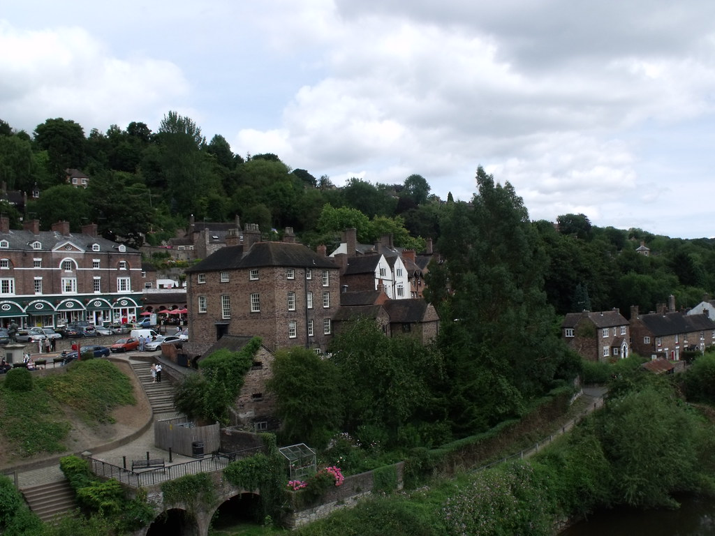 Ironbridge | Another look to the right of the town from the … | Flickr