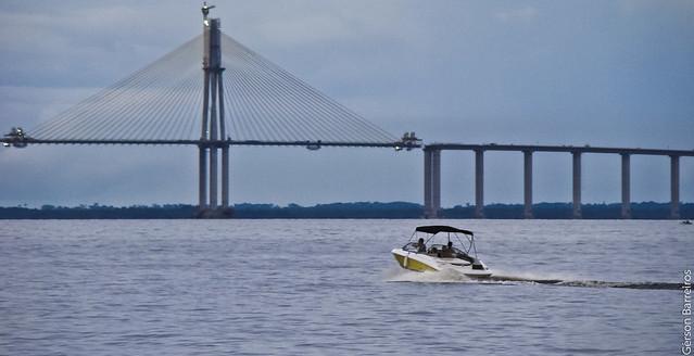 Bridge over Rio Negro - Manaus/AM - Brazil