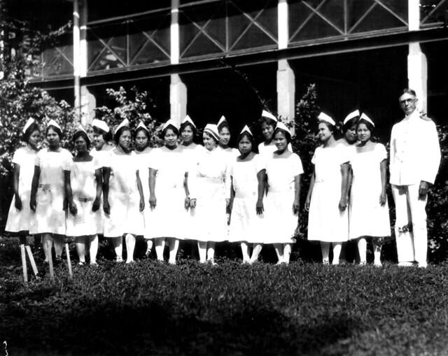 Chamorro Nurses, 1930