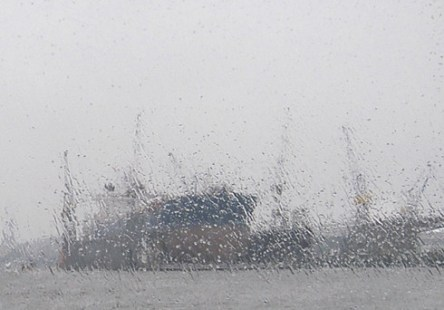 …and the weather in Hamburg was lovely