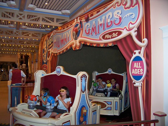 Toy Story Midway Mania in Paradise Pier