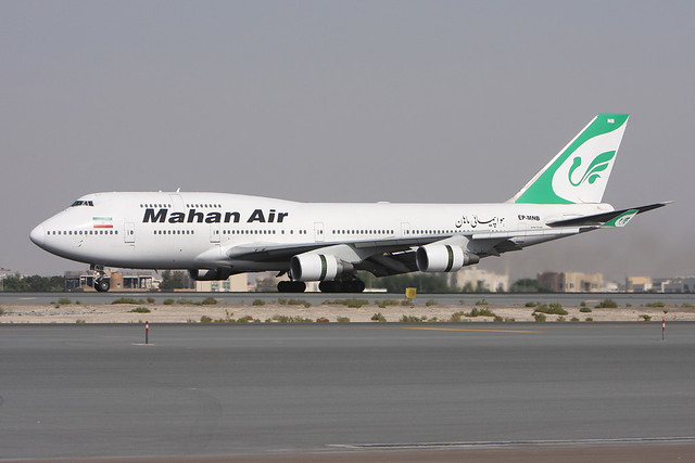 Mahan Air   B747-422   EP-MNB