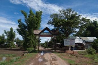 Dorfeingang Jun Village