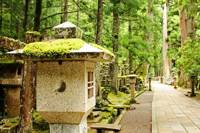 Okuno-in cemetery, Koyasan