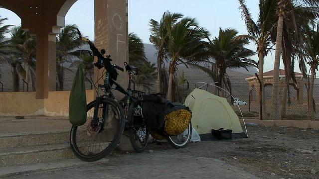 Camping near Salalah, Oman