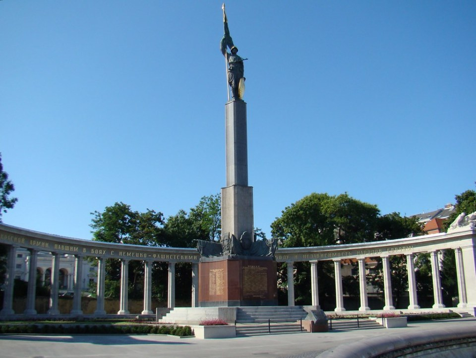 Monumento a la liberación Rusa Hochstahlbrunnen Viena Austria 31 Patrimonio de la Humanidad Unesco