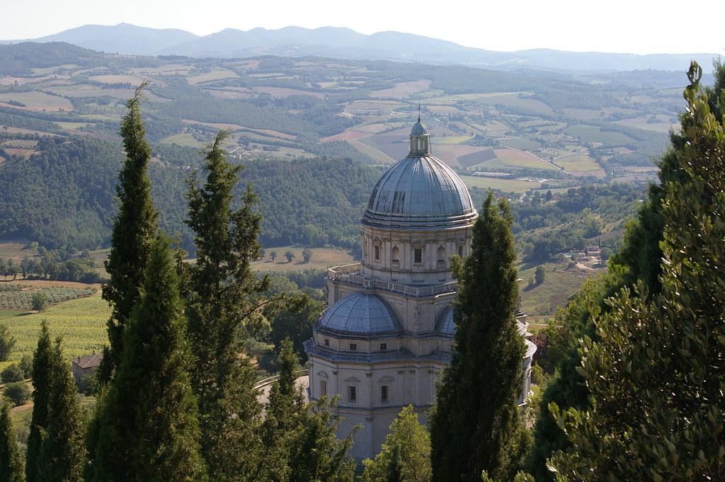 Todi, Umbria. Tempio di S. Maria della Consolazione