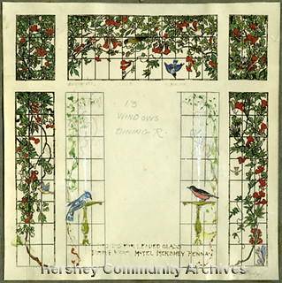 Hotel Hershey, plan for Circular Dining Room windows | Flickr