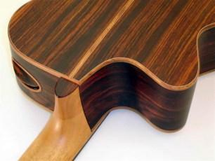 Lukas Brunner Custom 8-string Guitar