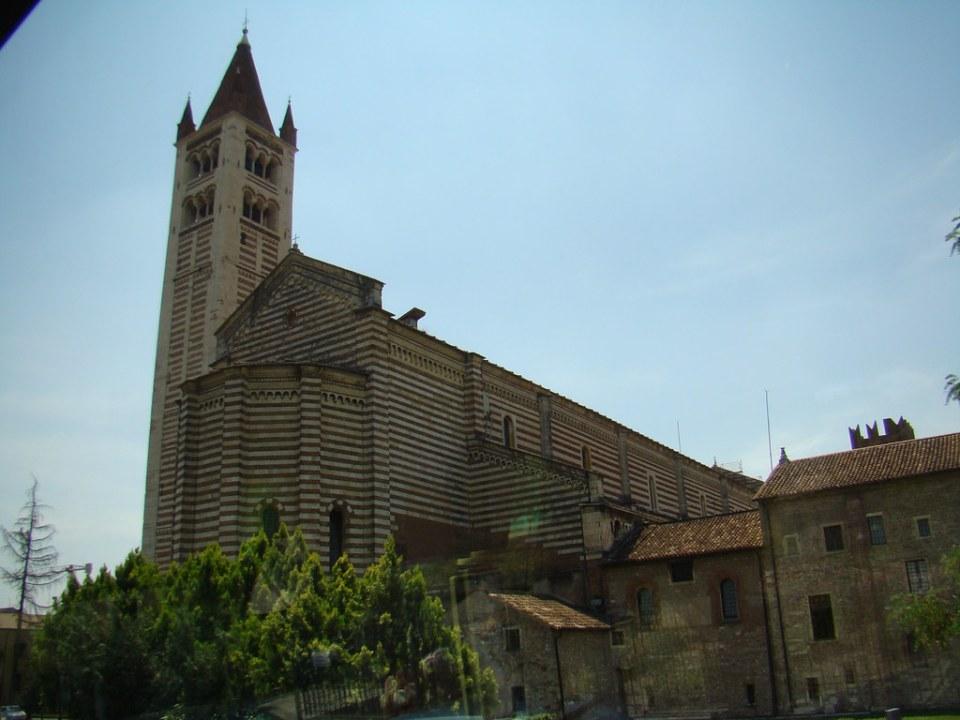 Verona Iglesia San Zenón Italia 37