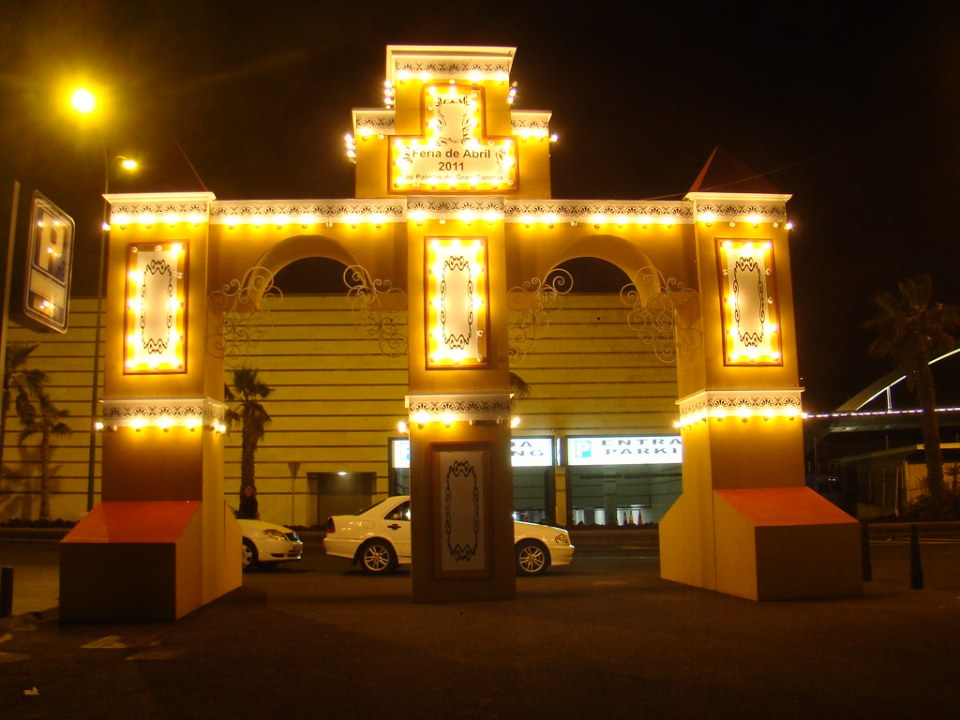 puerta IV Feria Abril Las Palmas de Gran Canaria año 2011 3109