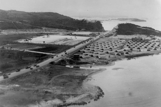 Asan Point, 1945