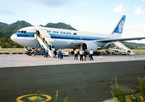 Rarotonga Arrival In 1993