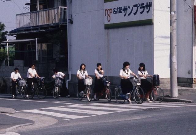 NIS Last Day - School kids Bikes