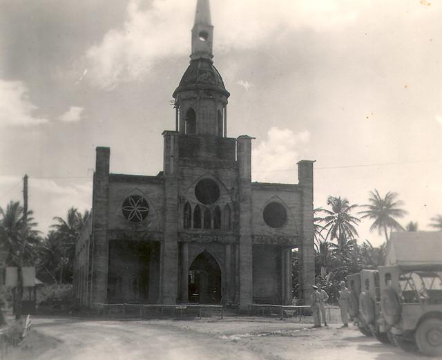 St. Joseph's Church, Inarajan 1940's