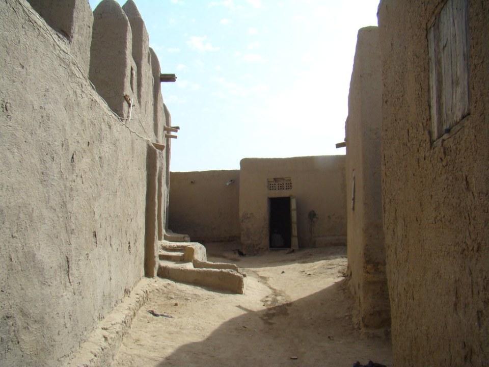 Mopti barrio antiguo de Taikiri Mali 08