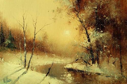 Igor Medvedev Russian Artist. winter | www.artistsandart ...