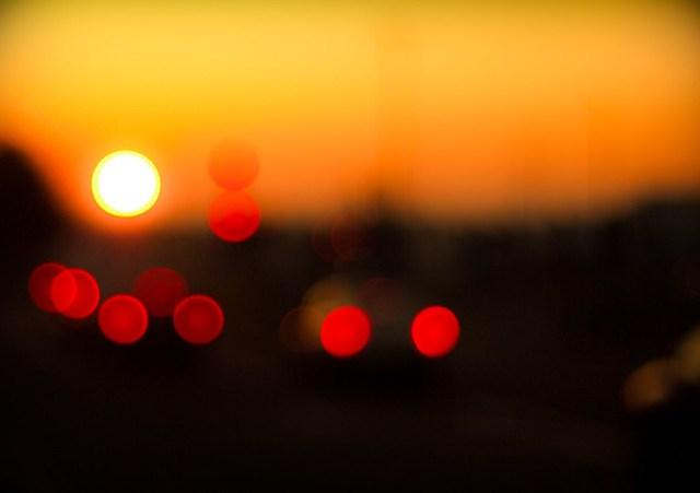 Rush hour sunrise