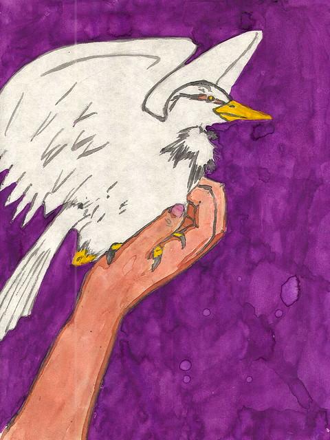 Juvenile Utak, The Ominous Bird