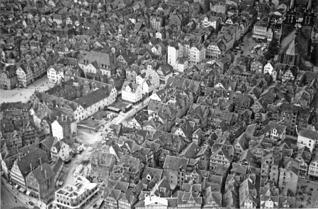 Kassel Vor Der Zerst 246 Rung Luftbilder Vom Alten Kassel Aus