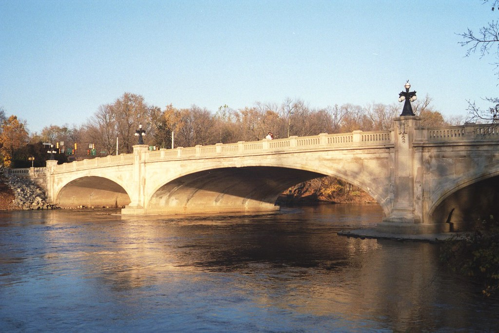 St. Joseph River bridge, South Bend