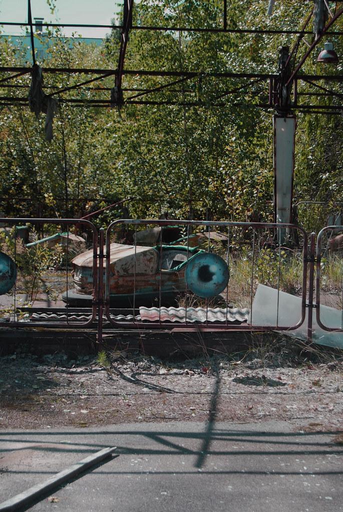 parque de atracciones fantasma