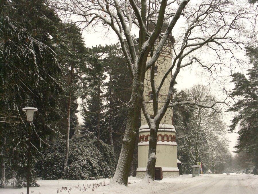 Ohlsdorfer Friedhof watertoren