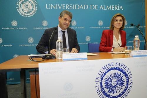 08/03/2017 Firma de convenio con Universidad de Almería Foto:Marco/MDE