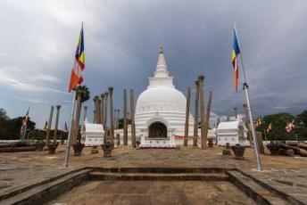 the pagoda die voorop de Lonely Planet staat