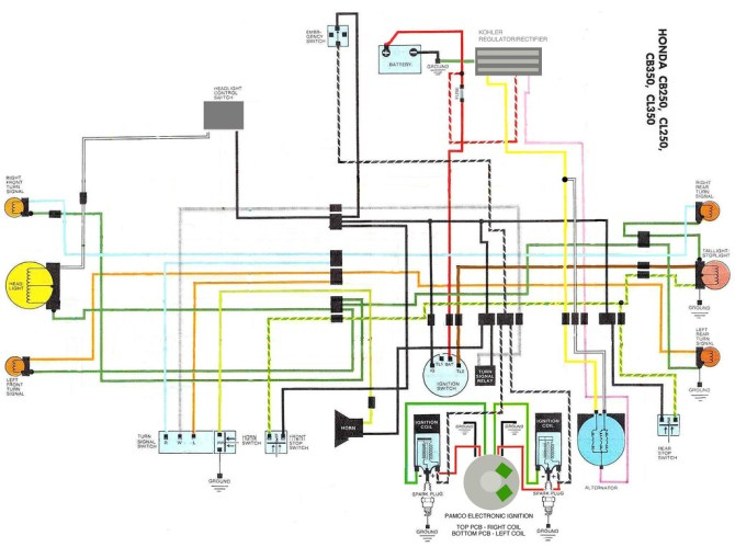 diagram honda cl350 wiring diagram full version hd quality