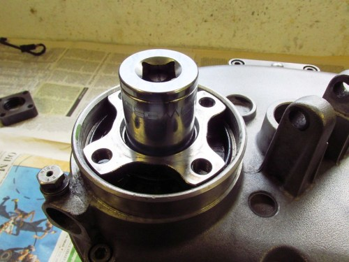 27 mm Socket Used To Remove Output Flange Nut