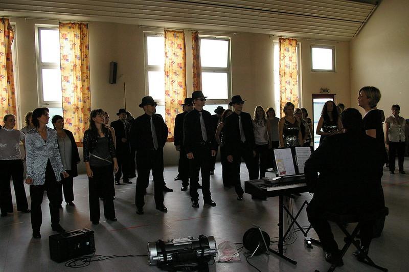 2008-08-03 Grand Prix der Choere - Choreografie Proben, 3. Augsut 2008