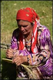 A lady in Khorog Tajik Pamir © Bernard Grua