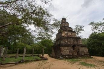met het hoofd weer leeg konden we dus verder naar Polonnaruwa