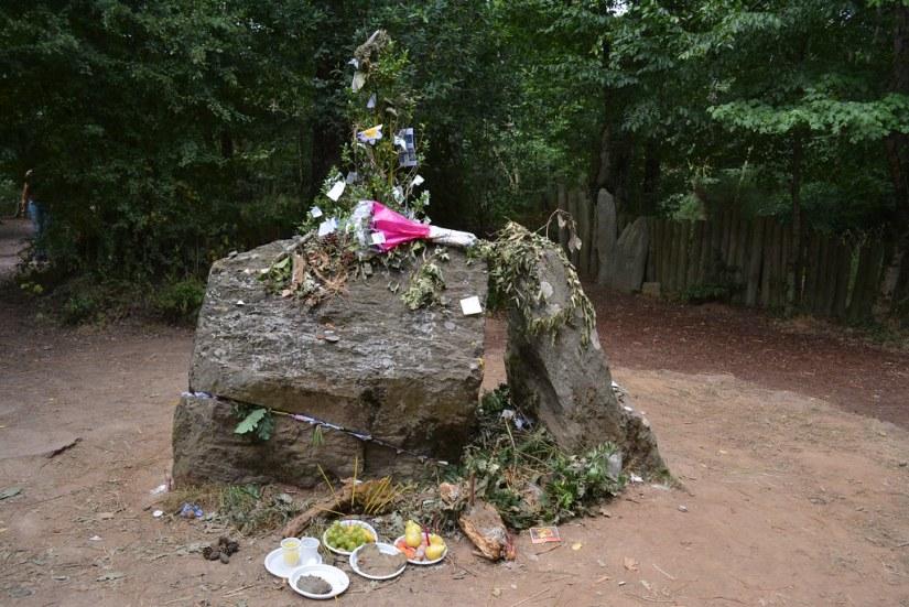 Foresta di Broceliande, Tomba di Merlino | Foresta di re Art… | Elena Giglia | Flickr
