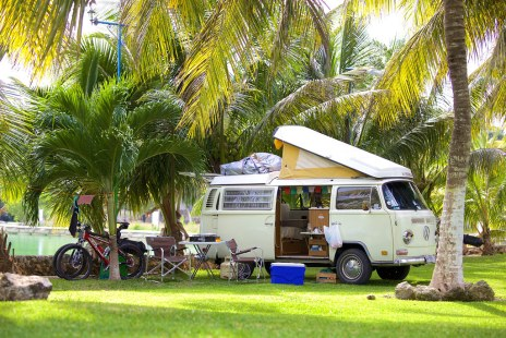 Our camp in Chetumal, Mexico (2015)