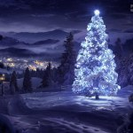 White Christmas Tree Desktop Hd Wallpaper White Christmas Flickr