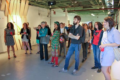 Curators' walk-through