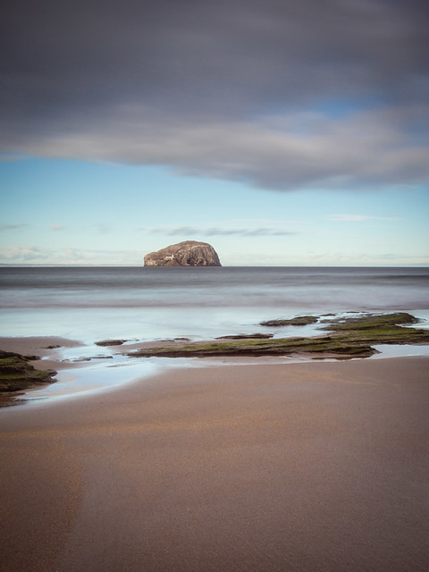 Bass Rock from Seacliffe III, East Lothian