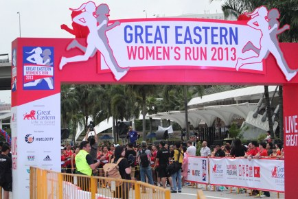 Great Eastern Women's Run 2013