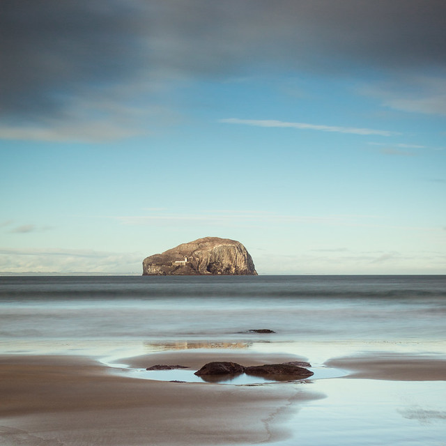 Bass Rock from Seacliffe II, East Lothian